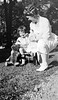 #4 Young girl sits with maybe Anna B Stebbins
