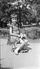 #4 Young girl sits on hobby horse