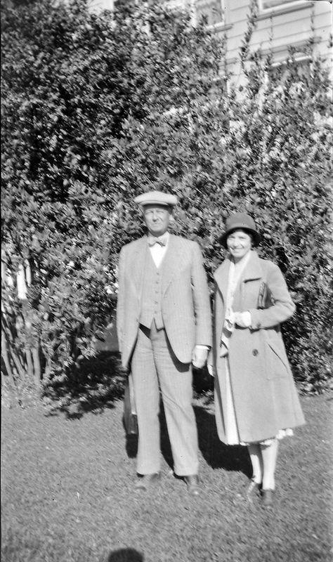 32-a Arthur Stebbins & woman