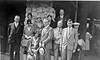 32-g Arthur & Anna B Stebbins in crowd probably Bryce Canyon 1930