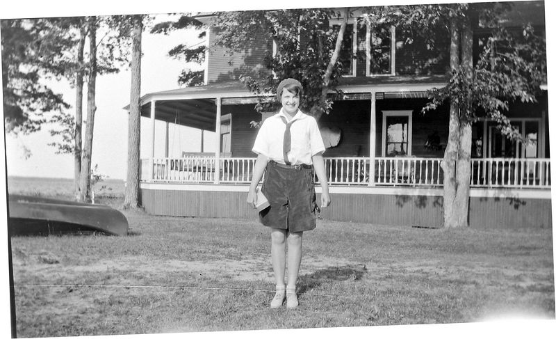 38-a see 33-i Ann Varner Stebbins North Winds Camp Pesllston Mi July-1930