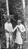 40-l George & Marie Stebbins shake hands - tennis