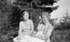 50r Anna B Stebbins & girl Roaring Brook 1931