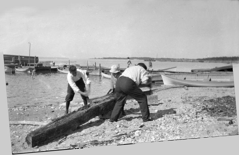 58y Pattengill Dock Roaring Brook about 1920
