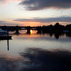 Banagher bridge...watching the sunset, circa 18.30hrs....