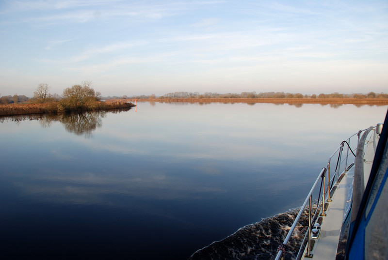 """We set out from Maddens Marina circa 14.30 just intending to take """"Arthur"""" on a little test drive after the recent floods. The stillness of the water, the abslute calm, without a ripple in sight always has me reaching for my camera."""