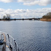 "Portumna Bridge ahoy!  This is the first time that ""Arthur"" has ventured onto Lough Derg since December 19th 2009!"