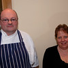 Proprietors of Dyson's Restaurant, Portumna......John & Heather Dyson. John is responsible for the cooking and Heather supervises the service in the restaurant.