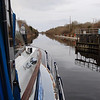 Exiting Victoria (Meelick) Lock bound for Banagehr...