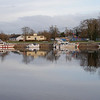 Banagher Public Harbour. <br /> <br /> Photo: Mary Healy