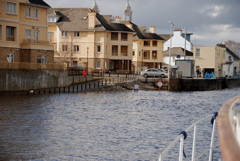 Water level not quite as high (but not far off it!) as last November.