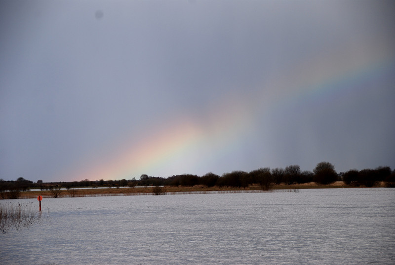 We could not find the pot of gold...but the rainbow itself was more than enough compensation!