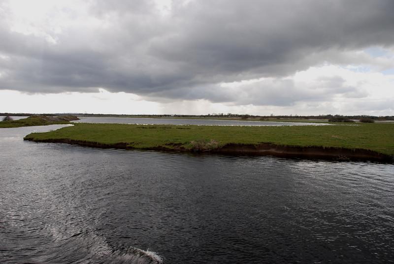 Devenish Island, north of Shannonbridge...flooded!