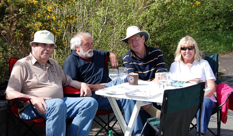 Paul, John, Louis and Breda