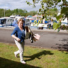 Maria Keane doing her civic duty...