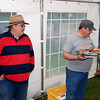Jim Hagerty ('Jokaju') observing activities at the BBQ..