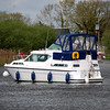 'This Way Up' waiting for Portumna Bridge to swing open.<br /> <br /> So, a great weekend well organised and supported by the Lough Derg and Crusing Club Branches of the IWAI came to an end.