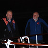John and Archie, Chairman and Commodore respectively, of the IWAI Cruising Club