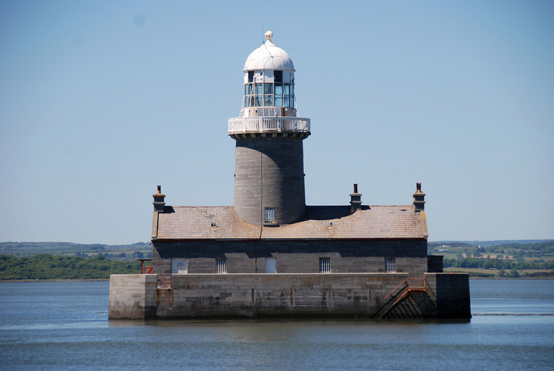 We started out from Limerick on Sunday, 20th June at 12 noon. A beautiful sunny day with very calm water state.  One of my favourite lighthouses....Beeves Rock, close to Aughinish.