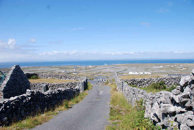 One of a number of colourful landscape shots that we took on Inishmaan.
