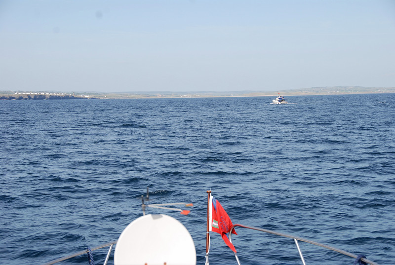 Approaching Liscannor for overnight stop.