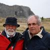 John and Paul in front of Dun Aengus.