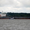 Well, if Lucky Sunday was not enough to be worrying about we then saw a second large vessel coming up from Foynes. 'Nordtrave' was about to swap places with Lucky Sunday and guess where Lucky Sunday was heading?
