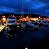 Dingle Marina at nighttime...