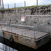 And Voila.....a temporary mooring to facilitate the use of the keypad attached to the wall which should open/close the sluice gate. At time of our passage work was ongoing and at present boaters are required to make contact with Ardnacrusha in order to have the gate opened.