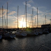 Fenit Marina at dusk...Weather looks good for tomorrow. We plan to depart Fenit circa 12.30 and head for Kilrush...<br /> <br /> It has been a super cruise so far.  And it is almost sad to be heading back to Kilrush and from there on to Limerick and Lough Derg and eventually Portumna.  And the weather was so much better than last year.  Yes, the weather was a real plus...