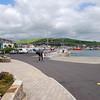 Dingle town, adjacent to the marina.