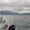 "Heading towards Fenit...shot from starboard side of ""Arthur"""