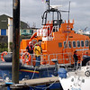 'Robert Hywel Jones Williams' - the Fenit RNLI Trent Class all-weather Lifeboat. When we arrived we discovered that the annual Fenit RNLI Open day was in progress!