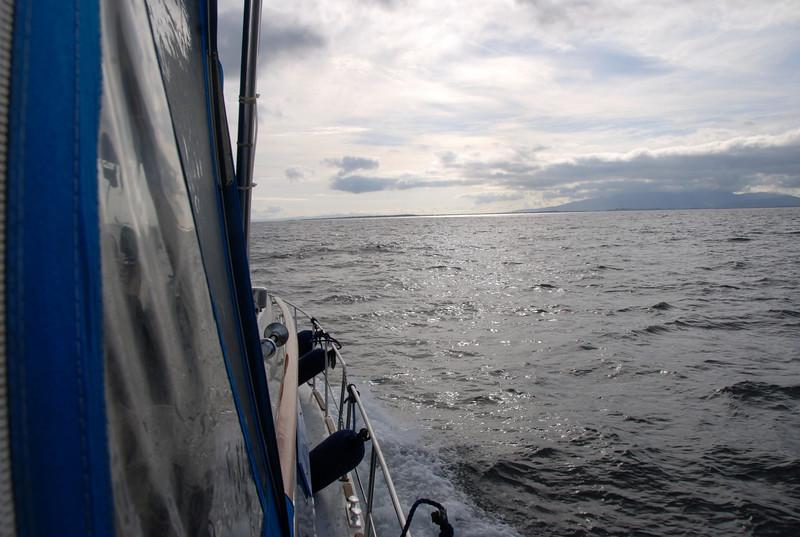 Heading into Tralee Bay.