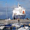 Beluga Faith exits Fenit Harbour.