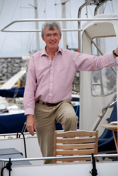 Shane Ward onboard Besie.