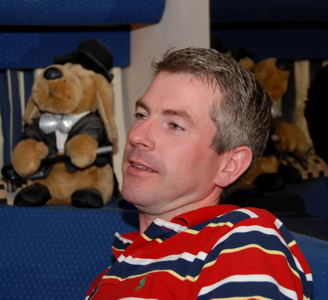 John Breslin in reflective mood...