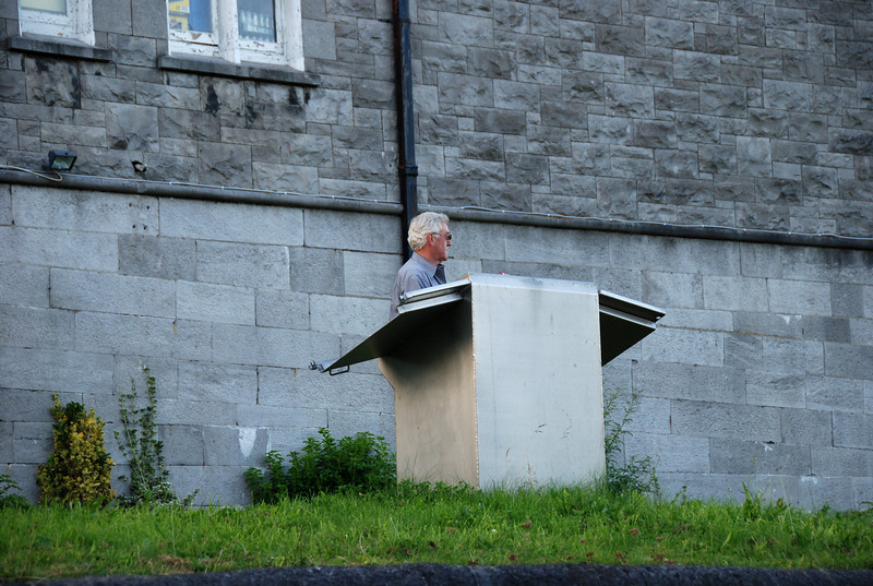 Dick Sparling,,,Lockkeeper at Sarsfield Lock, Limerick.