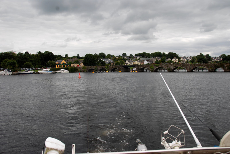 Leaving Killaloe we enter Lough Derg and we are back on Inland Waterways for the first time in four weeks...