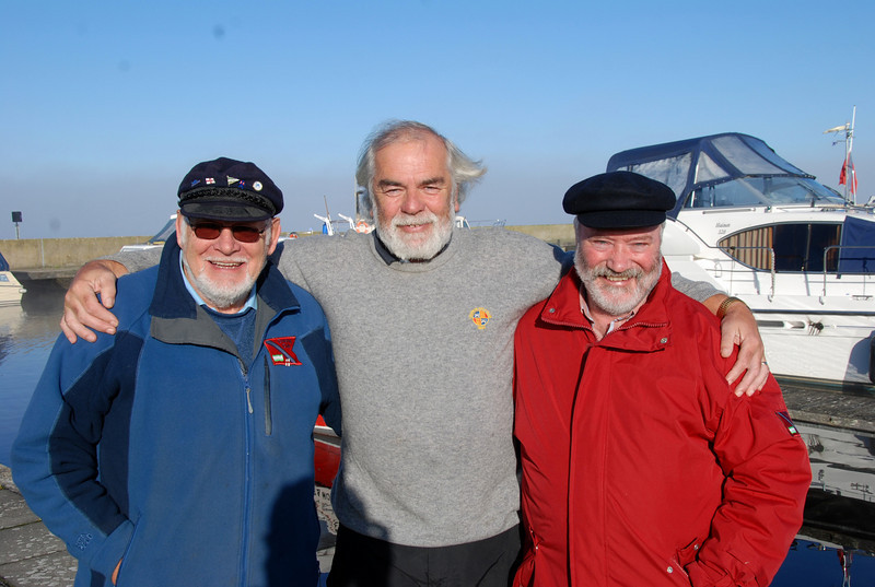 The 'beardies'...Archie, John and Charlie