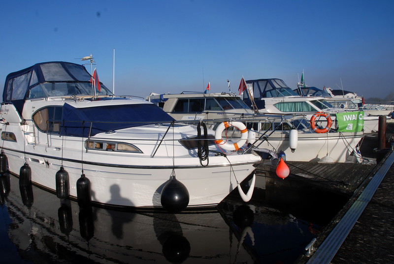 More of the Cruising Club fleet....