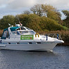 Cruising Club Commodore for 2010, Louis 'Nauti Buoy' Rice, links up with the CIC just south of Portumna bridge.