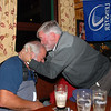 Charlie Murray celebrates Leinster's win....