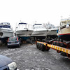 A number of owners visited the marina throughout the day.<br /> <br /> I suspect that it will be several weeks before the ice melts, and that is assuming that appropriate weather conditions facilitate a thaw!