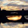 Wednesday, 5th January, 2011. Sunset at Banagher...