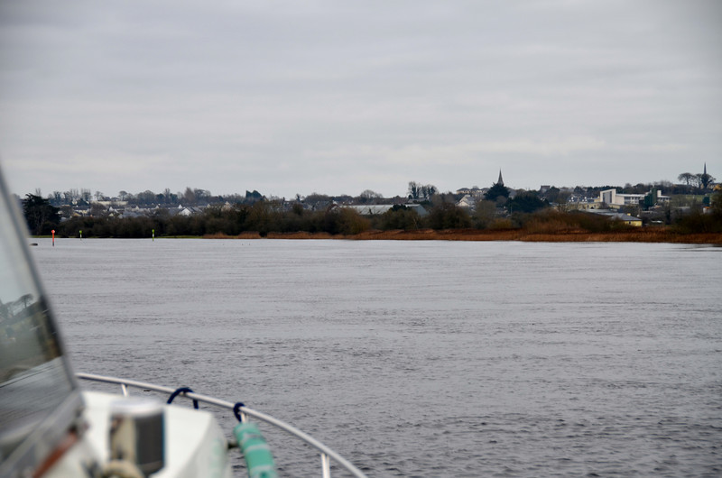 Approaching Banagher.