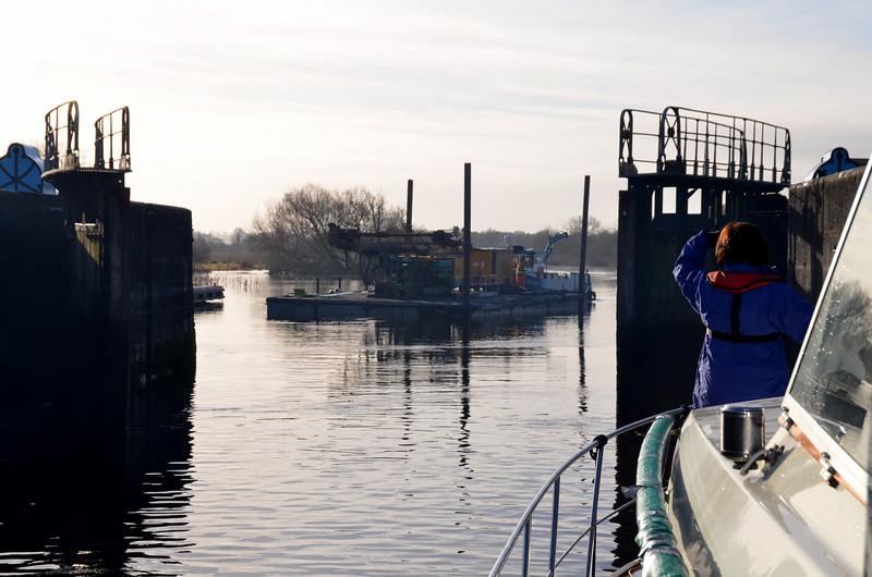 Another Waterways Ireland workboat...