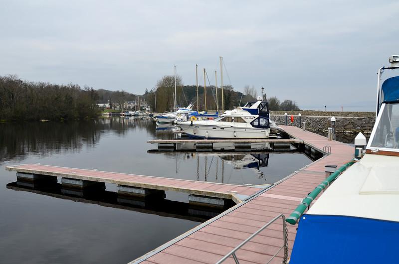 Saturday morning, circa 09.10...a sleepy Garrykennedy marina
