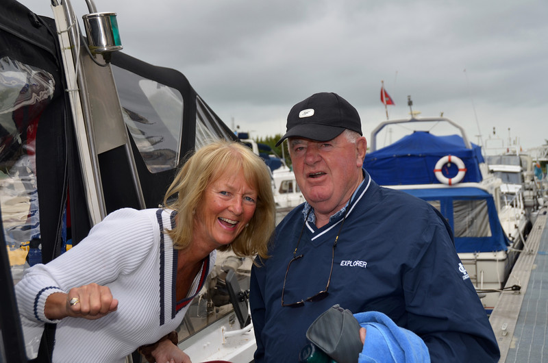 Val and Mike get Explorer ready for departure from Athlone.