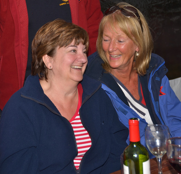 Anne and Val share a light moment...